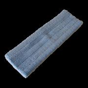 Mikrofiber tørmoppe med velcro 60 cm.