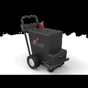 Trolleys og rygsække til rent vand
